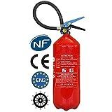 Extincteur 6 litres NF & MED eau pulvérisée avec additif ANTIROUILLE