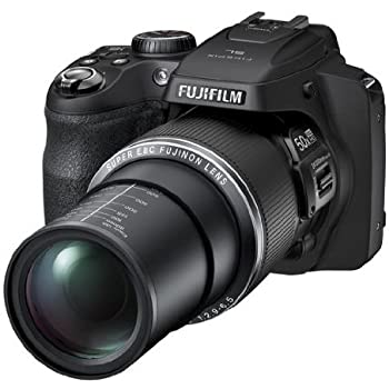 Fujifilm Sl1000 16 MP Point and Shoot Camera (Black) with 50x Optical Zoom, 4GB Card and Camera Case