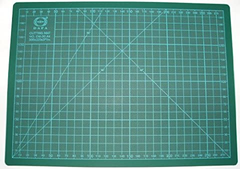 Dafa Tapis de sécurité de coupe rotatif 12A420x 20cm, vert