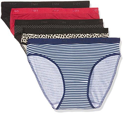 Dim – Les Pockets Coton – Slip – Lot de 5 – Femme