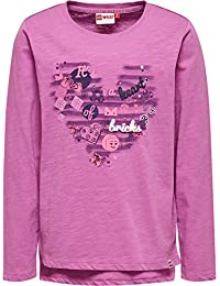 Lego Wear Lego Girl Tallys 605-Langarmshirt, T-Shirt Manches Longues Fille