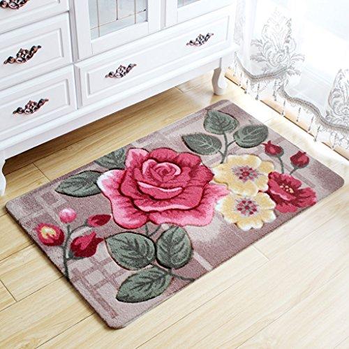 Cqq tapis de bain Tapis Tapis de porte Ottomans salle de bain salle de  rangement chambre à coucher Salle de bain Tapis absorbant ménagers salle de  bain ... dd57c1a9f63