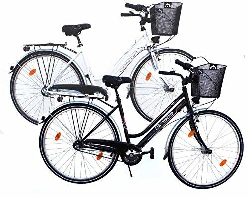 Citybike 26' Zoll Alu 3-Gang Nabenschaltung STVZO Nabendynamo Rücktritt RH 46 cm