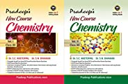 Pradeep's New Course Chemistry for Class 12 (Vol. 1 & 2) Examination