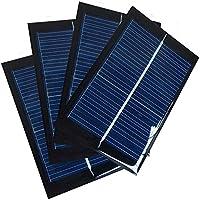 Juego de 4 Piezas NUZAMAS 6V 100mA 90X60mm Micro Mini Células de Panel Solar Para Energía de Energía Solar, Hogar DIY, Proyectos Científicos - Juguetes - Cargador de Batería