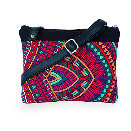 Lemon Trunk Women's Sling Bag (Multi-Coloured)