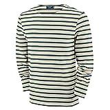 Saint James Langarm Shirt Meridien Modern - Streifenshirt - Bretagne-Shirt, Farben:Beige-Blau(50);Größe:M