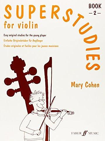 Superstudies: Bk. 2: (Solo Violin) (Faber Edition: Superstudies)