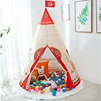 LIVEBOX Foldable Pop Up Children Playhouse/Castle/Tent/Den Perfect for Indoor & Outdoor Use Play Tent without Installation
