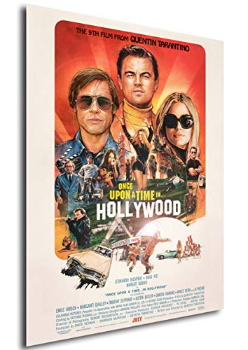 Instabuy Poster - Playbill - Film - Once Upon a Time in Hollywood Variant A3 42x30