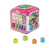 VTech Baby 80-183454 - Entdeckerwürfel, Kleinkindspielzeug, rosa von VTech