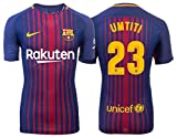 Trikot Herren FC Barcelona 2017-2018 Home - Umtiti 23 (S)