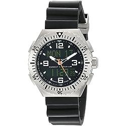Momentum Herren-Armbanduhr XL FORMAT 4 Analog - Digital Quarz Kautschuk 1M-SP24B8B