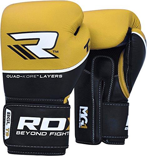 RDX Boxhandschuhe Sparring Rindsleder Training Kickboxhandschuhe Muay thai Sandsackhandschuhe -