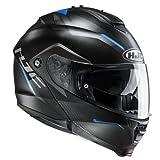 HJC Moto Casco IS Max II Dova mc2sf, Negro/Azul, tamaño L