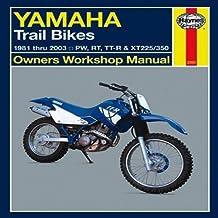Yamaha Trail Bikes 1981-2003 Repair Manual (Haynes Owners Workshop Manuals) 1st edition by Haynes (2013) Paperback
