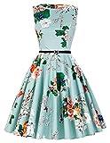 1950s rockabilly kleid swing kleid audrey hepburn kleid damenkleider elegant festlich 3XL CL6086-33