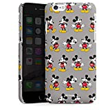 DeinDesign Apple iPhone 6s Hülle Premium Case Cover Micky Maus Muster Mickey Mouse