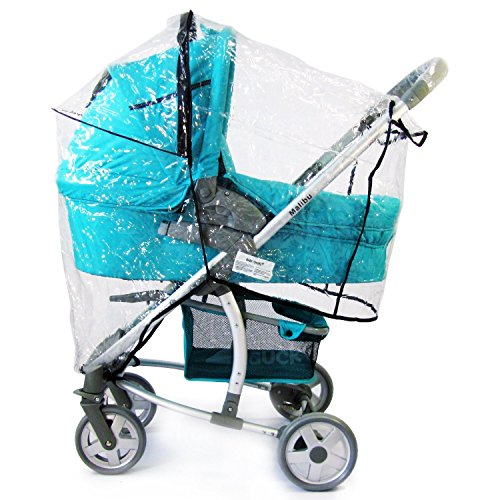 Baby Travel Travel System Raincover To Fit - Hauck Lift Up Shop N Drive (Heavy Duty, High Quality)