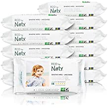 Naty By Nature Babycare - Sensitive Wipes - Toallitas húmedas ecológicas - 12 x ...