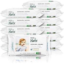 Naty By Nature Babycare - Sensitive Wipes - Toallitas húmedas ecológicas - 12 x ...