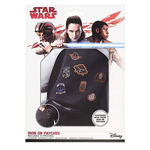 Star Wars Iron on Patches, Multi, 14 Teilig