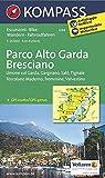 Parco Alto Garda - Bresciano: Wanderkarte mit Radrouten. GPS-genau. 1:25000 (KOMPASS-Wanderkarten, Band 694)
