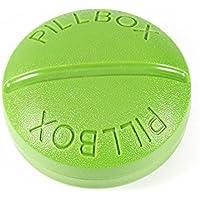 Tragbare Halterung rund Container Medizin Box Pille Fall Organizer preisvergleich bei billige-tabletten.eu