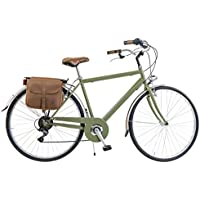 Via Veneto By Canellini Bicicleta Bici Citybike CTB Hombre Vintage Retro Via Veneto Acero (Vert