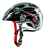 Uvex 414807 Kinder Fahrradhelm ,mehrfarbig (dragon red black), 51-55 cm