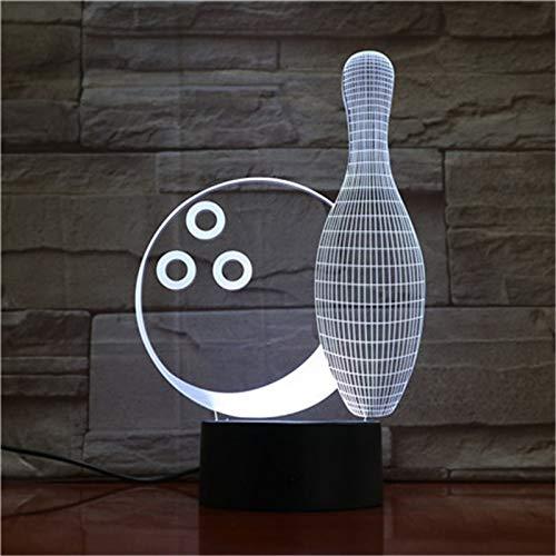 Bowling nachtlicht Farbe Touch Fernbedienung kreative kleine lampen kinderzimmer Lampe