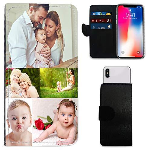 i-Tronixs Schutzhülle/Brieftaschen-Hülle für Mobiltelefone (15,2 cm / 15,2 cm), personalisierbar, mit Foto und Chrom-Schlüsselanhänger, BLU Vivo One (5.5