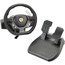 Le volant Thrustmaster Ferrari 458 Italia est le compagnon indispensable pour les courses de voiture avec votre PC/XBOX 360. Avec lui, découvrez toutes les sensations que procure la conduite d'une Ferrari ! Le volant XXL a un diamètre de 28 cm pour des sensations encore plus réalistes. Le système de fixation permet de fixer le volant sur n'importe quel type de table. Levier de vitesse séquentiel.