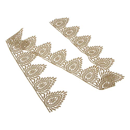 Trim Winter Mantel (chiwanji 1 Stü Quaste Trimmen Lace Trim Metallic Garne Gold Lace Fringe Trim Von Der Werft Handwerk Materialien - 6,5 cm)