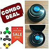 #8: Audi + 2 Normal Arvel™ Fidget Spinner Toy Stress Reducer : COMBO PACK OF 3 FIDGET SPINNERS : GRAB THIS COMBO NOW- Limited Stock!!