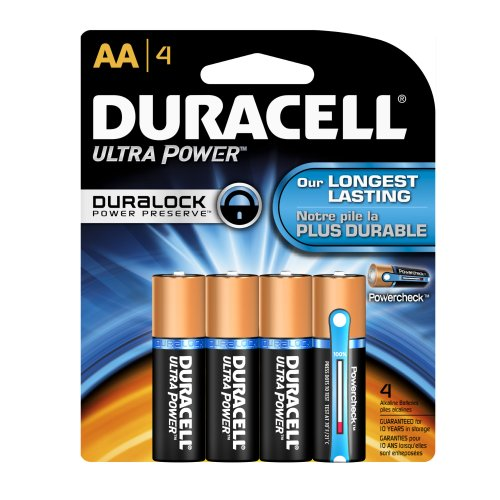 Duracell MN1500B4 - Plus Power AA 4 Pack Duracell Coppertop Alkaline-aa-batterien