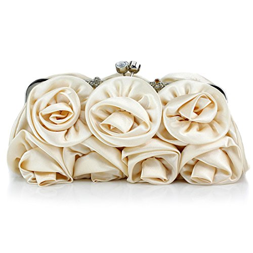 YYW Evening Bag, Poschette giorno donna Beige