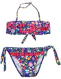 9bd120d81 PAOLIAN Traje de Baño de dos piezas Bikini para bebe niña Verano 2018  Bañador Banda Ropa ...