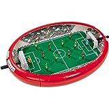 Unbekannt Games and More Fußball-Arena, mit 12 Spielfiguren und 3 Böllen: Kinder Tisch Kicker Mini-Kicker Spiel Tischfußball Fußballarena 3 Bölle