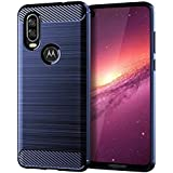 Motorola One Vision cover case - Blue