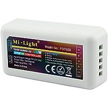 LIGHTEU®,2.4G Wireless WiFi Control Module LED RGBW-Streifen-Controller WLAN RGBW, fut038