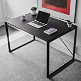 Harbour Housewares Large Computer, Laptop Wooden Desk - Black…