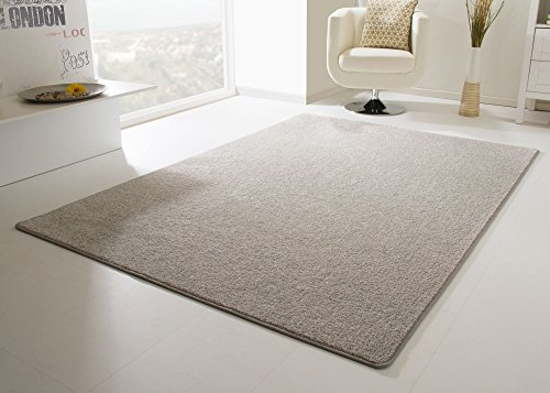 Designer Teppich Modern Cambridge in Grau, Größe: 300x400 cm
