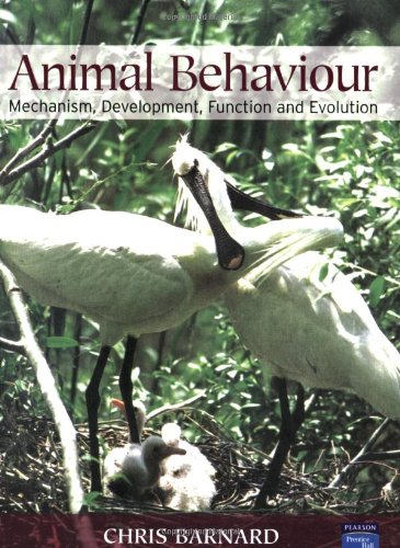 Animal Behaviour: Mechanism, Development, Function and Evolution: Mechanism, Development, Ecology and Evolution