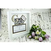 Gift for Grandma - Wall Frame Keepsake Present - Mothers Day/Birthday/Christmas/Grandparent