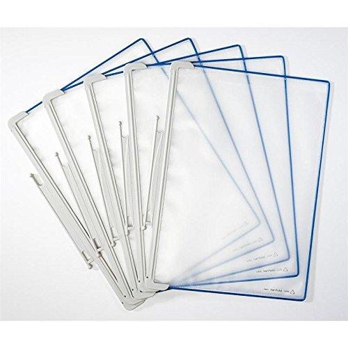 Preisvergleich Produktbild Sichttafel Tarifold Office PP A4 bl PP A4 blau 5 Stück