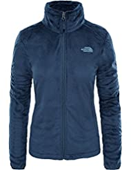 The North Face T0CMJ340Q M Chaqueta Osito 2, Mujer, Ink Blue, M