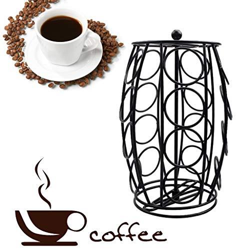 TAOtTAO - Dispensador de cápsulas de café con Soporte Giratorio con 20 portavasos