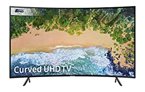 Samsung UE65NU7300 65-Inch Curved 4K Ultra HD Certified HDR Smart TV - Charcoal Black (2018 Model) [Energy Class A+] - Charcoal Black