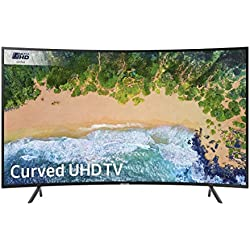 Samsung UE55NU7300 55-Inch Curved 4K Ultra HD Certified HDR Smart TV - Negre Carbó (2018 Model) [Classe energètica A]
